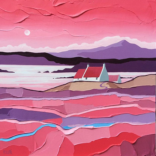 Peter Luti - Purple Hills Over Clear Water