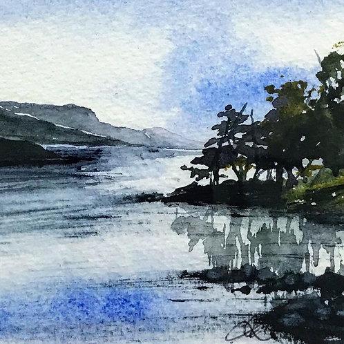 Sue Lowe Miniature - Loch Rannoch