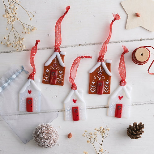 Ann Maitland - Gingerbread Single Hanging (White)