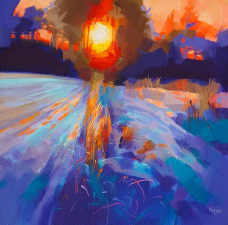 Colourful scottish art, contemporary paintings by Scottish artists - Jim Wylie