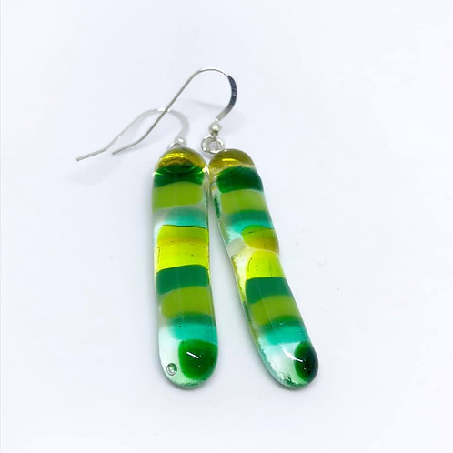 Marsha Luti - FusedGlass Drop Earrings