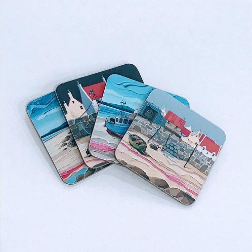 Peter Luti Coasters - Set of 4