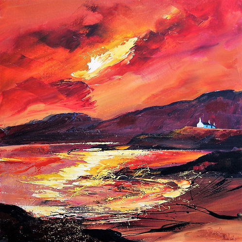 Dronma - West Coast Sunset  - SOLD