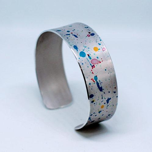 Miranda Peckitt - Anodised aluminium 20mm Cuff SOLD