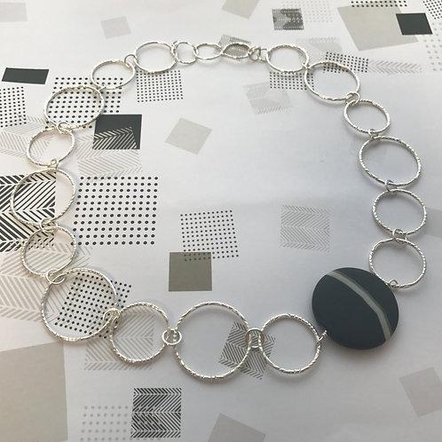Angela Learoyd - Coin Necklace - handmade chain