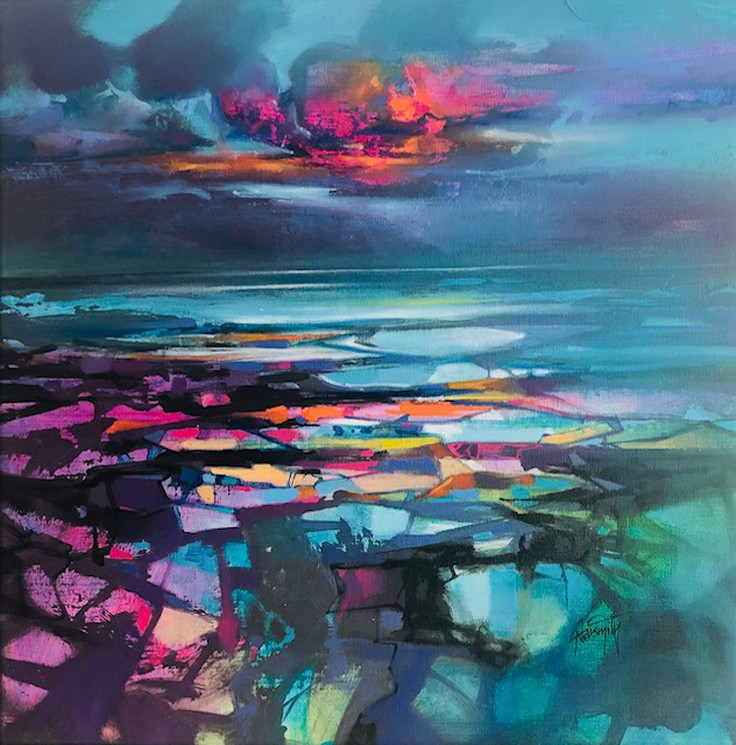 Scott Naismith Contemporary Scottish Artist - Planes of Colour