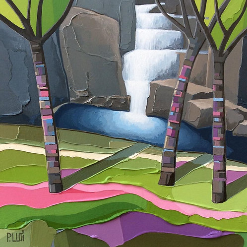 Peter Luti - Trees Over the Falls