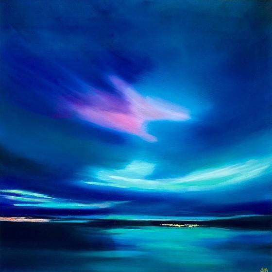Sarah Anderson Contemporary Scottish Art - Night Lights