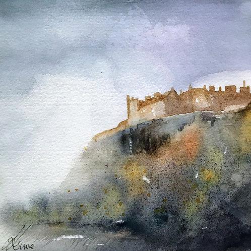 Sue Lowe - Stirling Castle in Morning Mist
