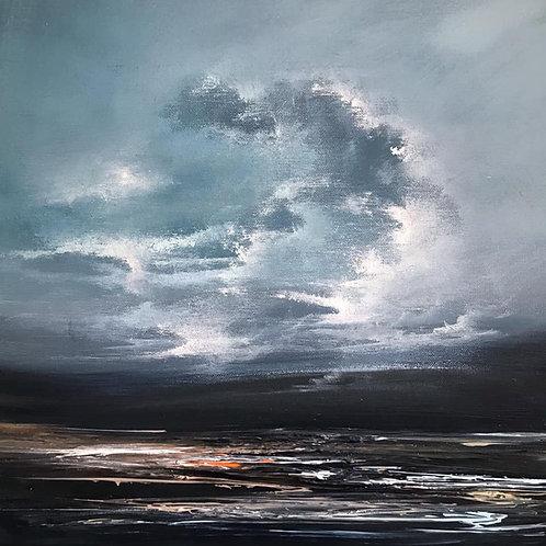 Philip Raskin - Haze on the Hills SOLD