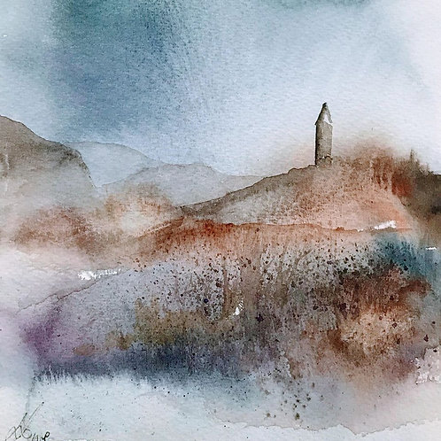 Sue Lowe - Wallace Monument in Morning Mist