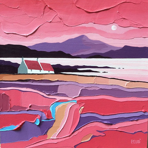 Peter Luti - Red Rock Coast SOLD