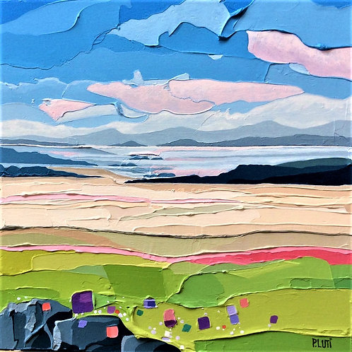 Peter Luti - Firth Across the Beach SOLD