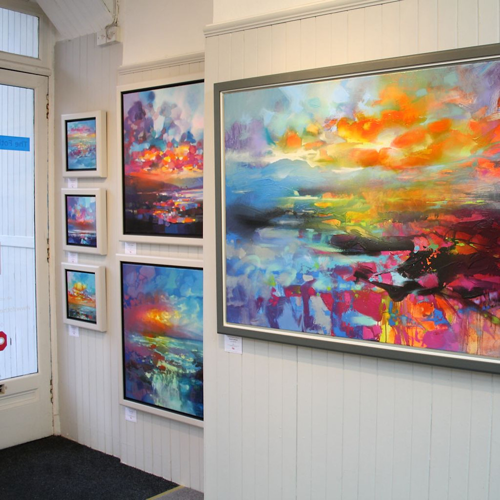 10 of the best Contemporary Scottish Art Galleries - Fotheringham Gallery