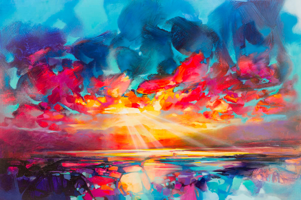 Colourful scottish art, contemporary paintings by Scottish artists - Scott Naismith