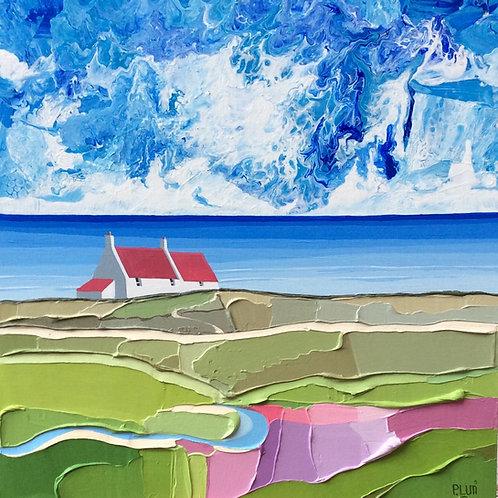 Peter Luti painting