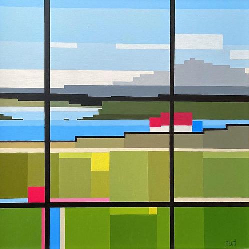 "Peter Luti - ""Highland Lockdown""  - AKA - Mondrian's Vist to the West Coast"