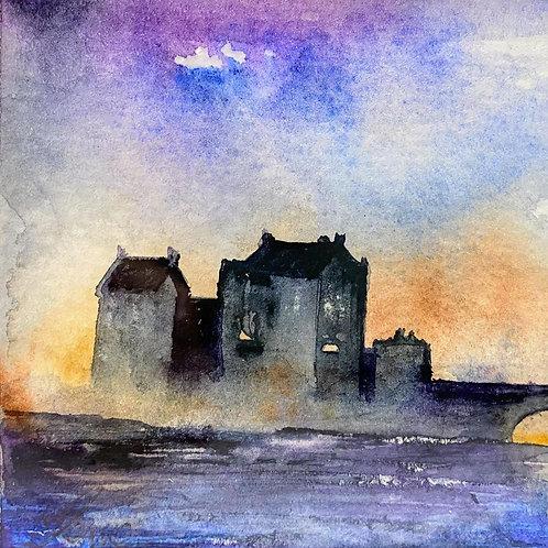 Sue Lowe Miniature - Eilean Donnan