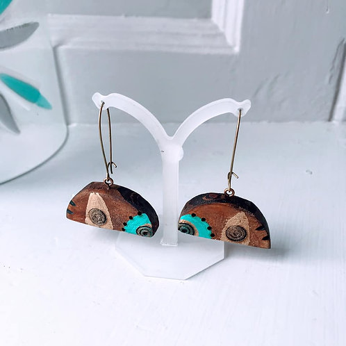 Morag Lloyds - Driftwood Earrings