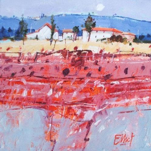 Ian Elliot - Vibrant Field, Tuscany