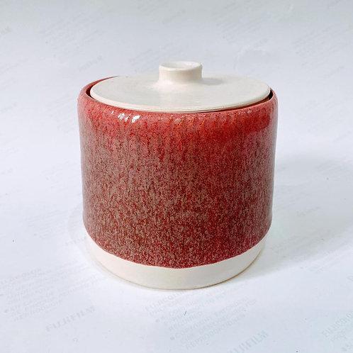 Cindy McLoughlin - Pink Lidded Jar