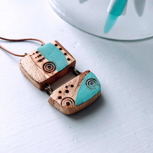 Morag Lloyds - Double Driftwood Necklace