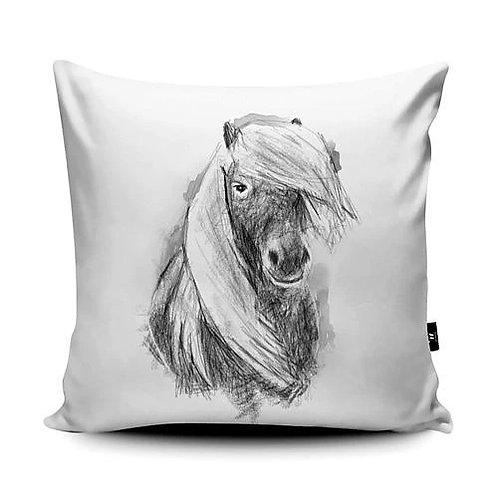 Marsha Luti - Shetland Pony Cushion