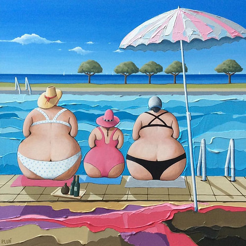 Peter Luti - Cracking Day by the Pool