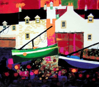 Colourful scottish art, contemporary paintings by Scottish artists - George Birrell