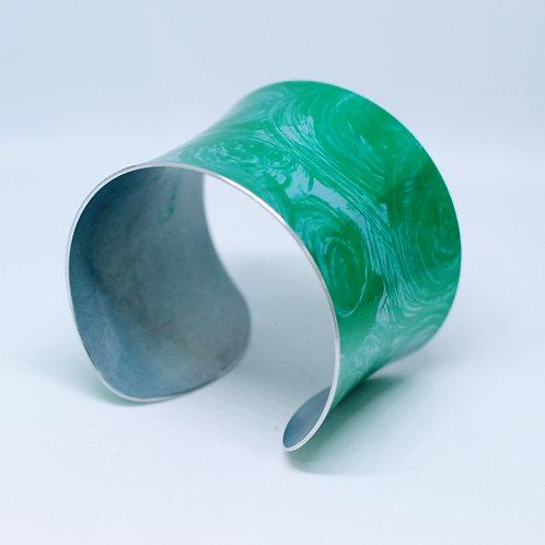 Miranda Peckitt - Anodised aluminium 50mm Cuff