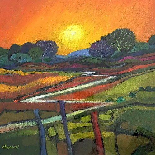 Davy Brown - Sunset Over the Glen