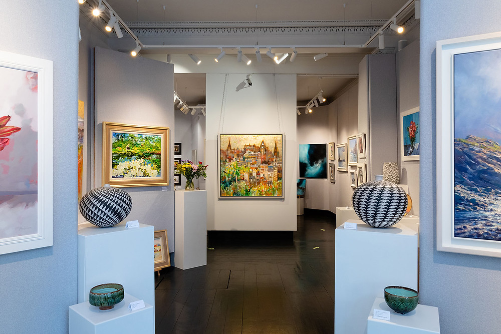 10 of the best Contemporary Scottish Art Galleries - Morningside Gallery