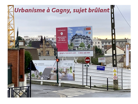 Urbanisme à Gagny