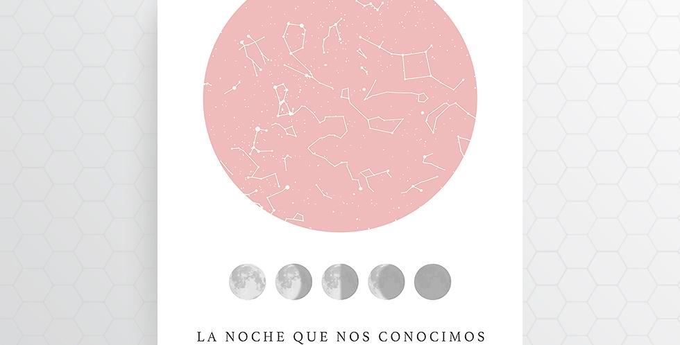 Mapa de Estrellas Digital: Lunar