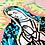 Thumbnail: Serigrafía Virgen Tropical Ilustración