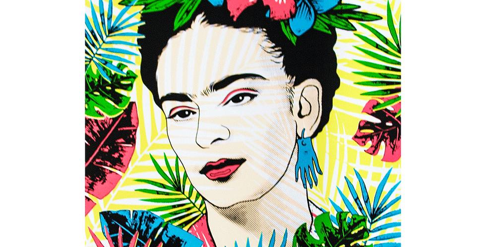 Serigrafía Frida Tropical Ilustración