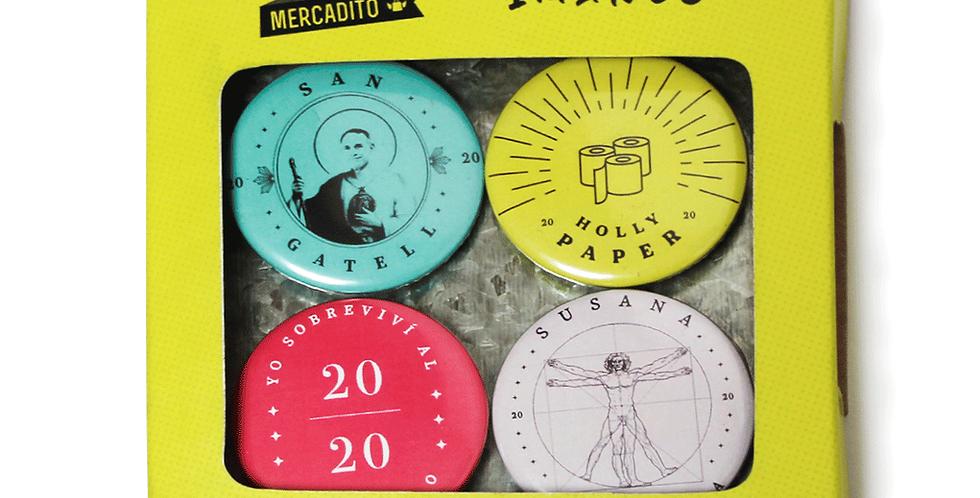 Conjunto De Imanes Colección 2020