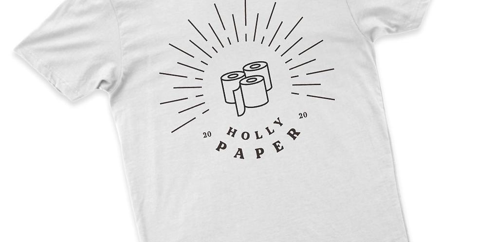 Playera Manga Corta: Holly Paper