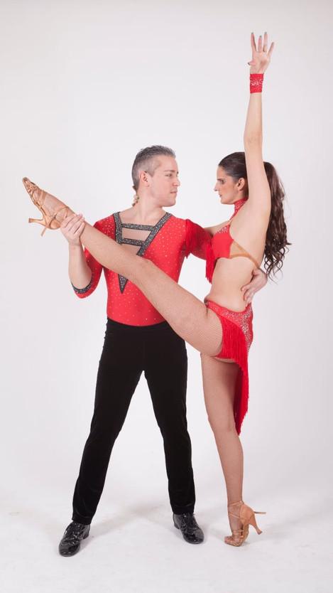 Elena Travaini e Anthony Carollo