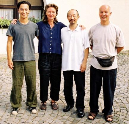 Soldan sağa:Tathata, Petra, Toyo Kobayashi, Süha Ertekin