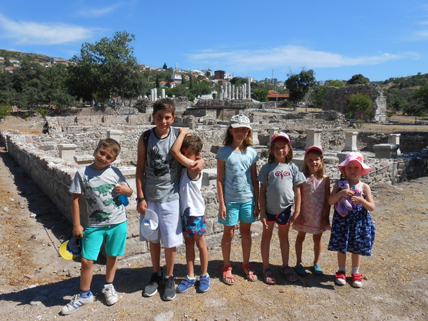 Minik arkeologlar!