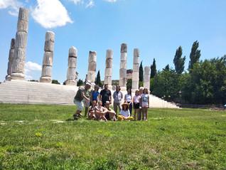Yine Apollon Smintheion tapınağını ziyaret.