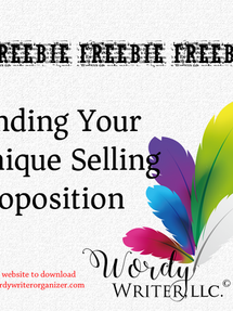 FREEBIE! Finding Your Unique Selling Proposition