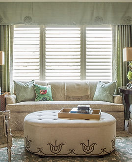 A sitting corner in a luxurious master bedroom for our wonderful clients