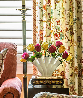 A close up shot of a sitting area in an in-law suite we've created for our wonderful client!