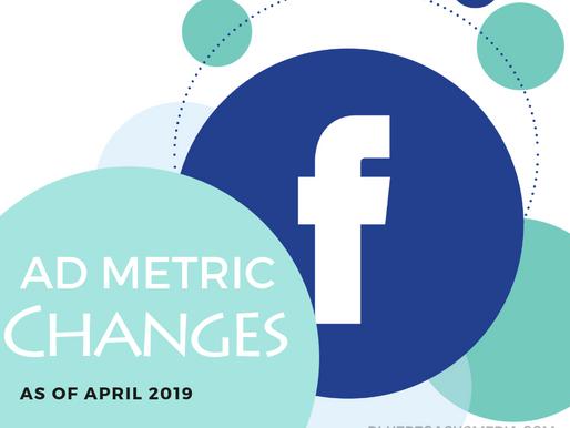 Facebook ads - new metrics