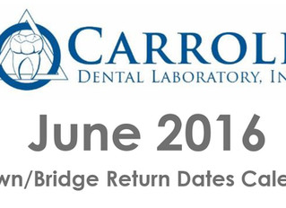 June Due Date Scheduling Calendar Available Now!