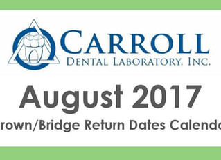 August Scheduling Calendar Now Available!
