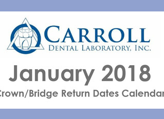 January Scheduling Calendar Now Available