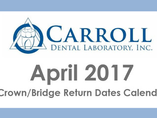 April Scheduling Calendar Now Available!